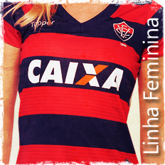 Camisa Treino Vitória 2016 Puma Vermelho e Preto R  159 6732e143add1f